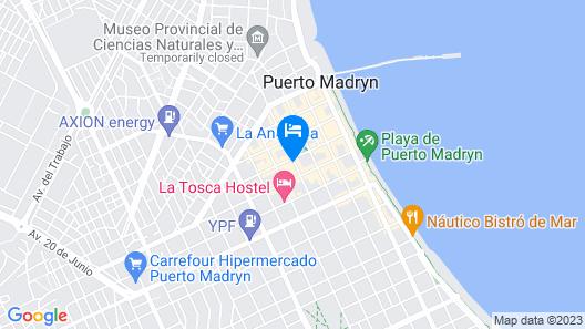 Departamentos Santa Monica Map