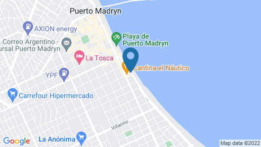 Hotel Hostal del Rey Map