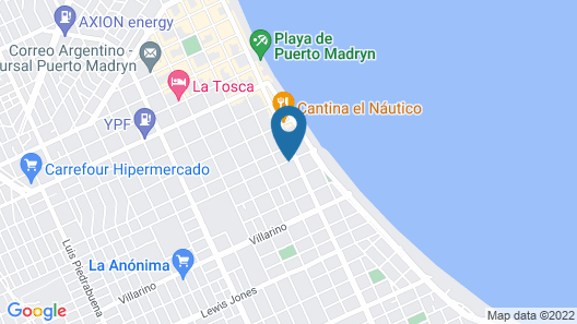 Hosteria Miras del Mar Map