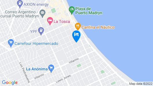 Los Abedules Map