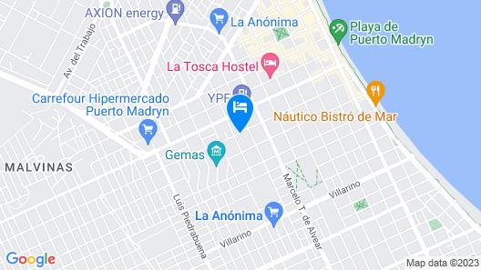 Complejo La Lucila Map