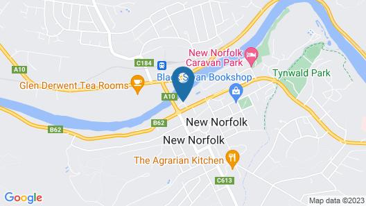 The Woodbridge Tasmania Map