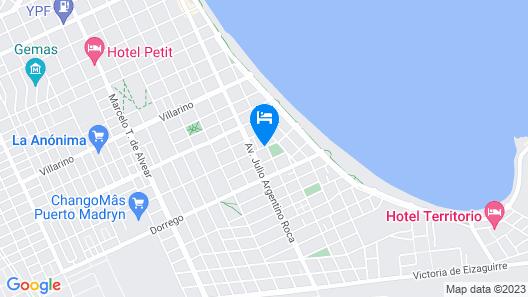 AB Alojamientos Puerto Madryn Map