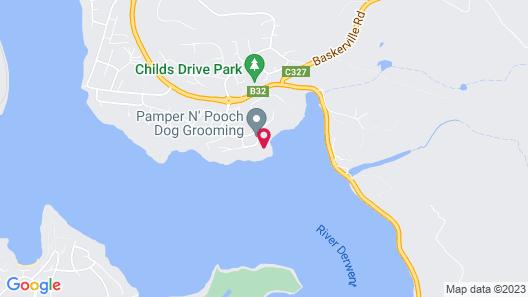 Amazing Unique Five-Star Waterfront Retreat Map