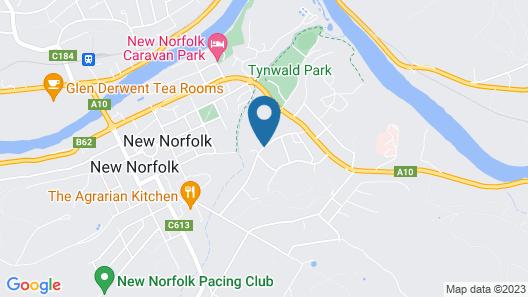 Derwent Valley Resort Map