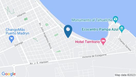 Bahia Delfines Map