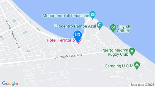 Hotel Territorio Map