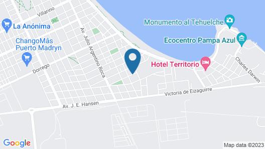 Ala Sur Departamentos Map