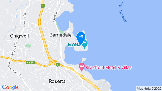 Mona Pavilions Map