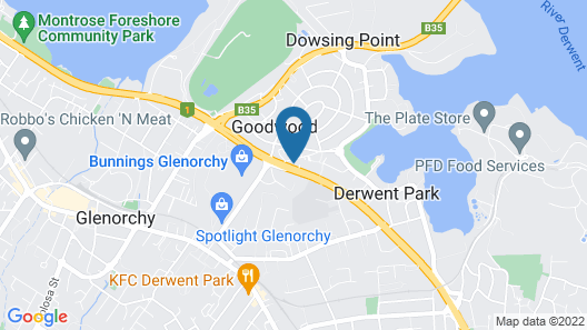 Best Western Balmoral Motor Inn Map