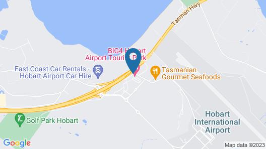 BIG4 Hobart Airport Tourist Park Map