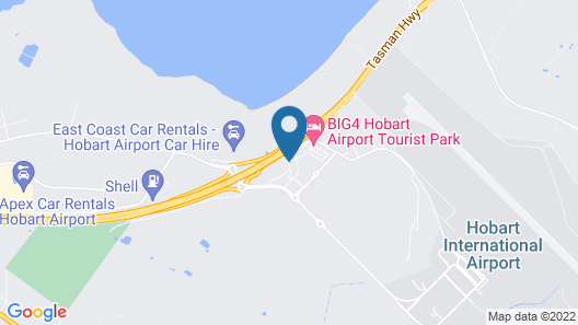Travelodge Hotel Hobart Airport Map