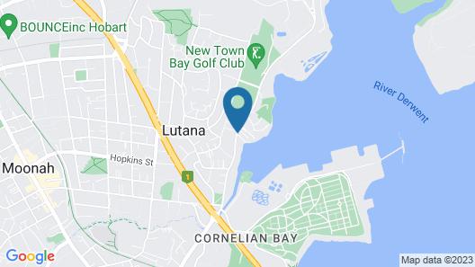 Waterfront Lodge Motel Map