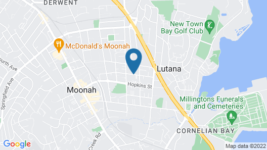 Two Bedroom Entertainer Minutes from CBD Map
