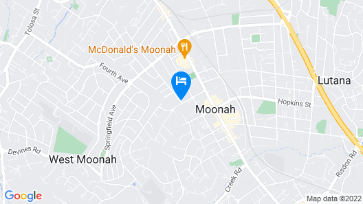 Moonah Central Apartments Map