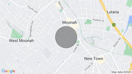 Rocklyn House - Quiet, Convenient & Central Location Map