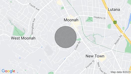 Moonah House-10 mins to CBD & MONA, sleep 11, great view, park 3 cars Map