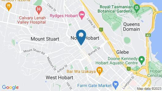Impressive 4 Bedroom House in Heart of North Hobart. Wifi, Netflix Map