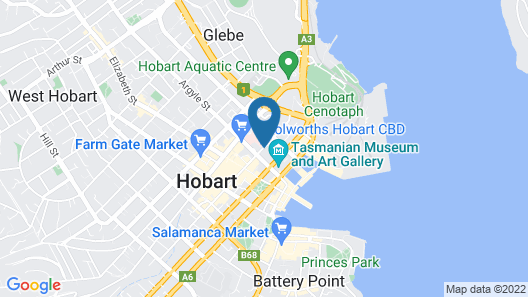 Mantra Collins Hotel Map