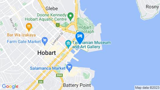 Sullivans Cove Apartments Map