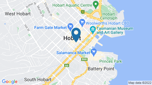 RACV Hobart Hotel Map