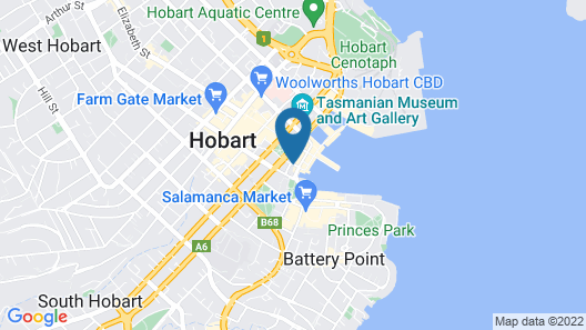 Quest Waterfront Serviced Apartments Map