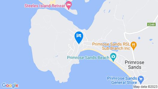 Primrose Sands Panorama Map