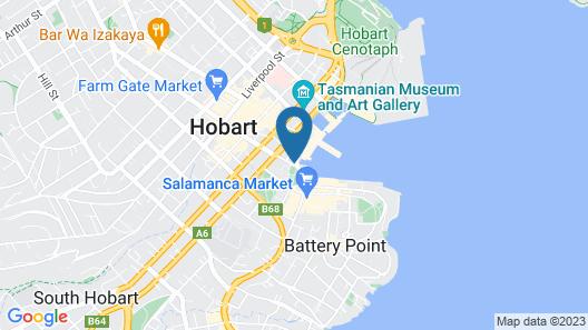 Customs House Hotel Map