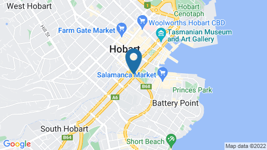 Welcome Stranger Hotel Map