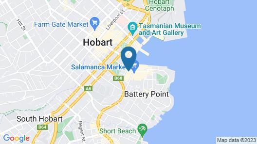 Waterman's Hotel Map