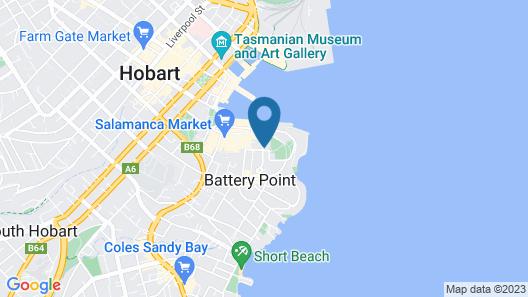 Lenna of Hobart Map