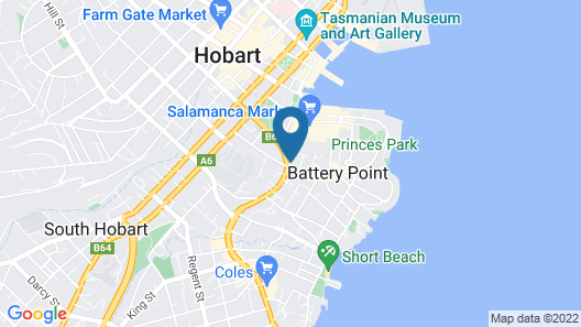 Portsea Place Map