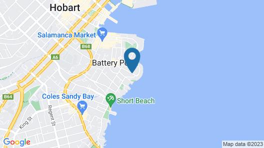 Grande Vue Private Hotel Map