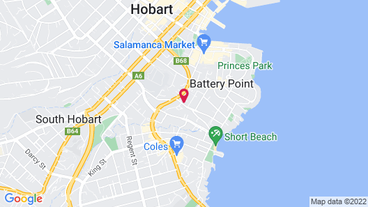 St Ives Apartments Map