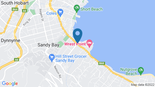 Wrest Point Map