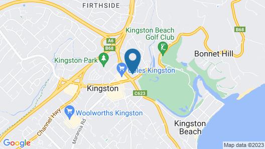 Kingston Hotel Map