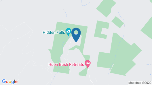 Huon Bush Retreats Map