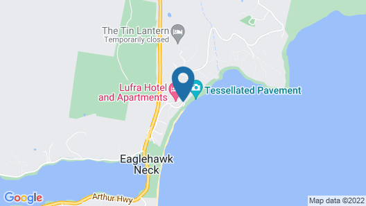 Lufra Hotel and Apartments Map