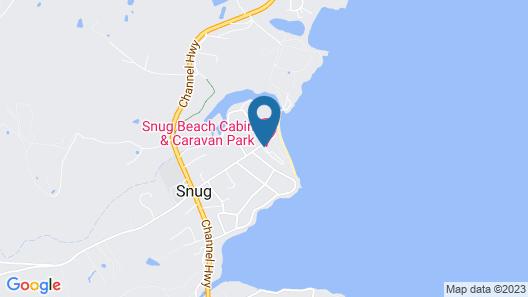 SNUG BEACH CABIN AND CARAVAN PARK Map