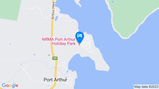NRMA Port Arthur Holiday Park Map