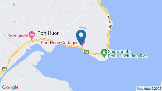 Port Huon Cottages Map