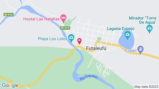 Hotel El Barranco Map
