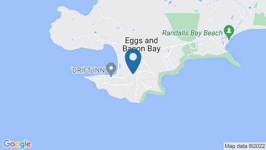 Three Beaches - Chic Eco Home Tasmania Map