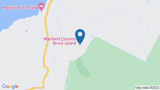 Manfield Country Bruny Island Map