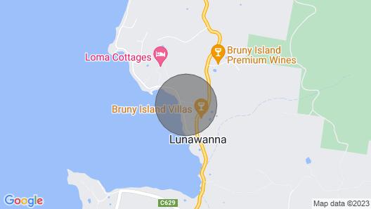 Beach House 'aisling' Map