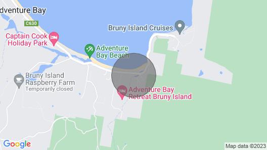 Yolla Beach House A Quiet Relaxing Getaway Map