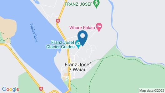 Aspen Court Motel Franz Josef Map