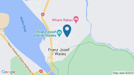 Forest View Franz Josef Map