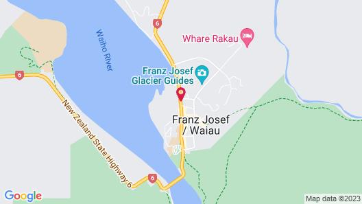 Te Waonui Forest Retreat Map
