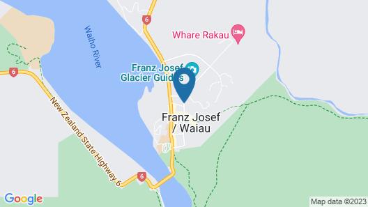 Punga Grove Map